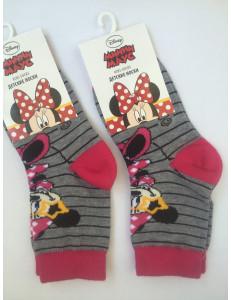 Носки серые для девочек дисней Минни
